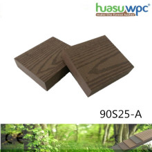 25mm Thick Solid Strong Decking Durable Patio Garden/Square Paving WPC