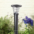 Nice design decking Outdoor standing Solar lamps for garden/residential area/plaza lighting (JR-2602)