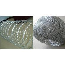 Cheapest Price Black Razor Barbed Wire
