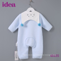 60135 100% Baumwolle Sweet Baby Strampler Weiche Jump Suit