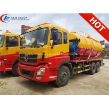 2019 nuevo camión de succión de aguas residuales de Dongfeng 18000 litros