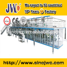 baby elephant disposable baby diaper making production line