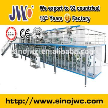 Машина для изготовления детских подгузников T-образной формы JWC-NK450-EB