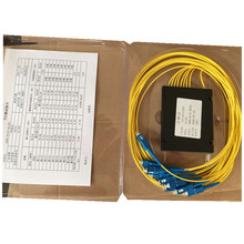 ABS Box Sc / Upc Stecker 1 * 8 PLC Splitter