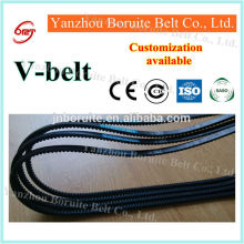 Automotive fan belt v belt