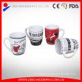 Logotipo de publicidad de alta calidad impresa taza de porcelana