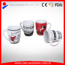 Logo publicitaire de haute qualité Tasse imprimée en porcelaine