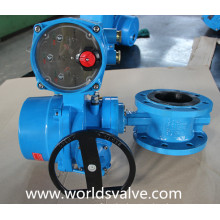 Double Flange Butterfly Valve with Electrical Actuator