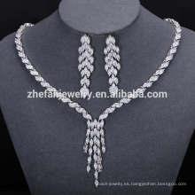 2018 último diseño popular conjunto de joyas de perlas africanas de moda