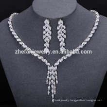 2018 Latest Design Popular Fashion African Beads Jewelry Set