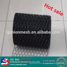 Fabricante de malha de arame hexagonal revestido com pvc quente