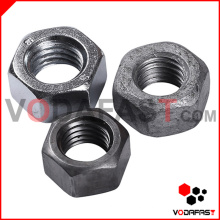 Steel Hex Nut Plain Zinc Plated H. D. G.