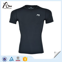 Spandex Compressed Base Layer Compression T-Shirts para Hombres