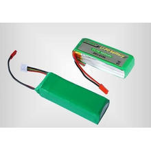 1200mah Lithium polymer battery with 20C discharg rate