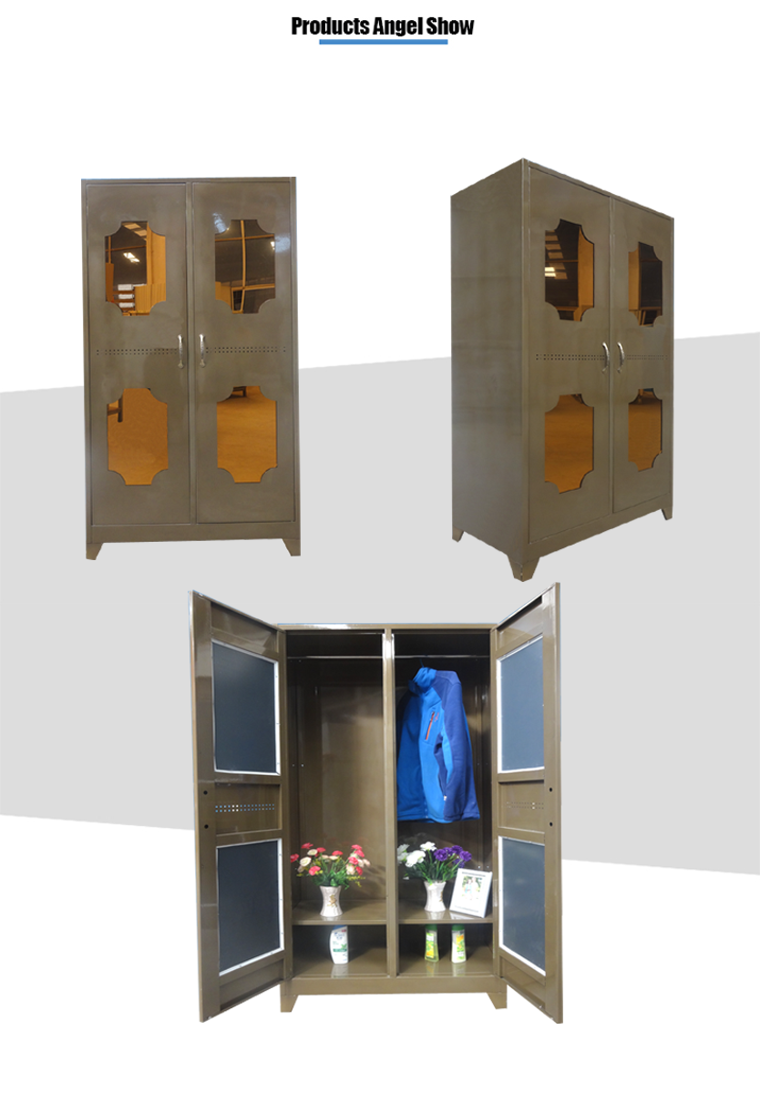 steel clothes cabinet wardrobe