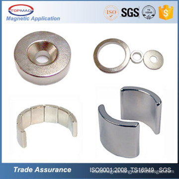 Hard disc shaped N35 neodymium magnets