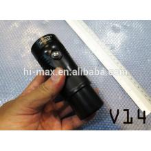 Equipo de submarinismo submarino video led lights diving flashlight