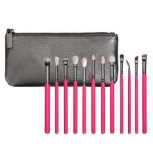 Ensemble cosmétique à brosse à lèvres 12PCS avec pochette (ST1204)