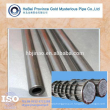 Tubo de trocador de calor de tubo de aço de baixo carbono carbono A179