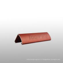 Profil en aluminium de produits en alliage d'aluminium pour porte coulissante