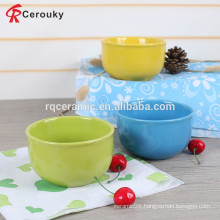 Europe food safety ceramic salad bowl
