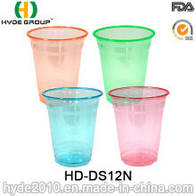 12oz Disposable Plastic Pet Cup with Dome Lid