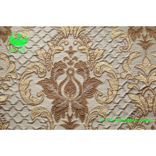 Polyester Jacquard Vorhang Stoff (BS1308)