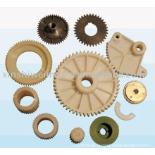 пластиковые шестерни дизайн и обработка