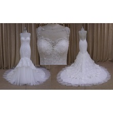 Designer Dress Mermaid Bridal Gowns Wedding Dress