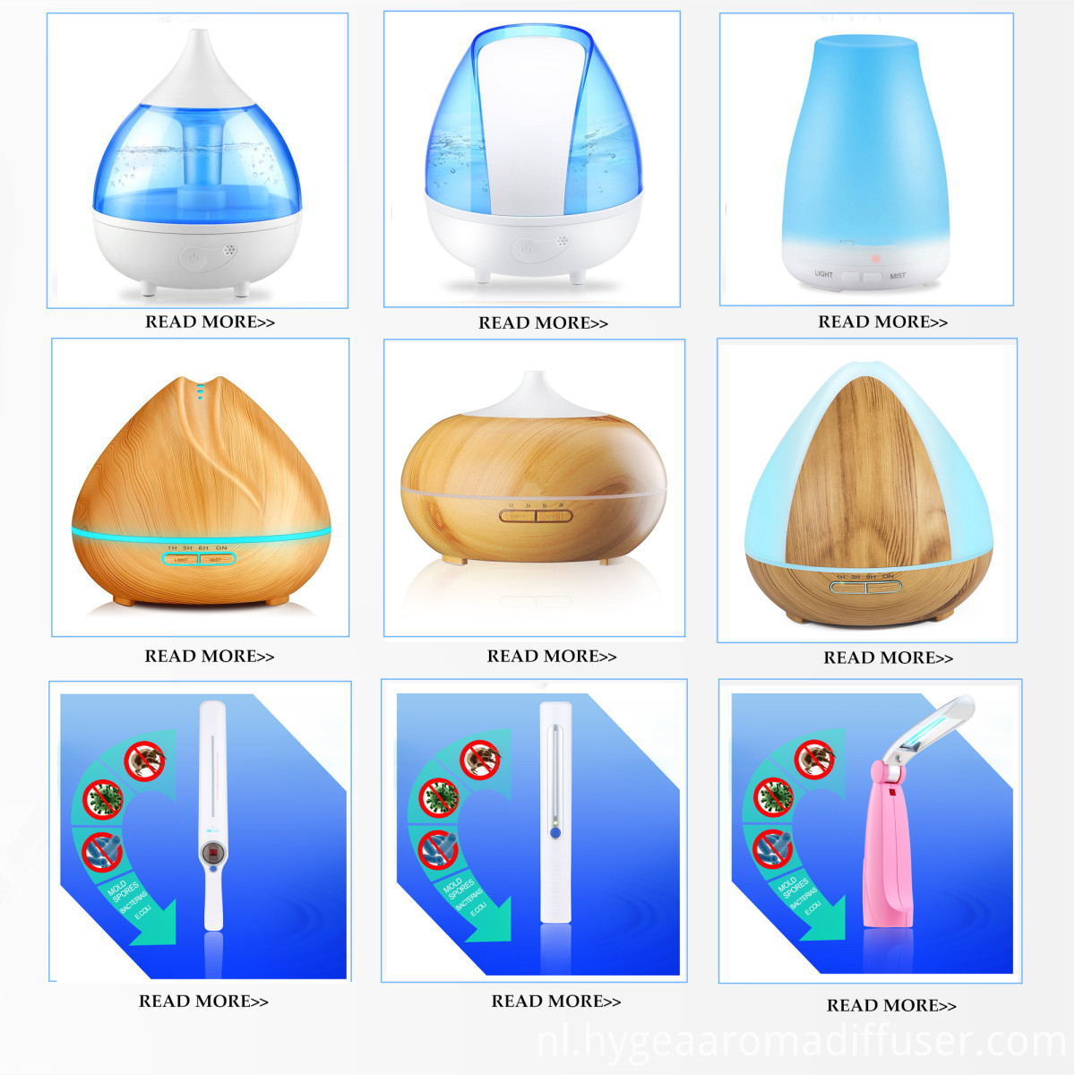 diffuser and humidifier