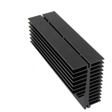 Disipador de calor de aluminio de extrusión personalizado.