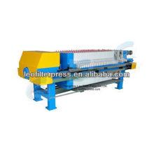 Prensa de filtro de Leo Prensa de filtro de planta de piedra de mármol