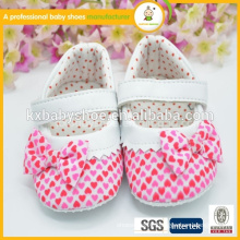 Latest baby girl dress shoes cheap baby crib wholesale cute infant shoes                                                                         Quality Choice