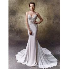 Спагетти Бисером Атласные Вечерние Свадебные Свадебное Платье