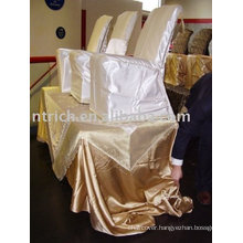 Satin chair cover,hotel chair cover, banquet chair cover