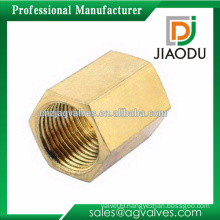 High quality pipe fitting general fitting 1 2 3 4 1/4 1/2 3/4 3/8 5/8 customized cw617n brass square nut for pipes