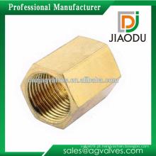 Tubulação de alta qualidade montagem geral 1 2 3 4 1/4 1/2 3/4 3/8 5/8 personalizado cw617n porca quadrada de latão para tubos