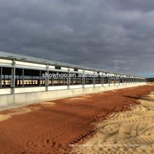 Design für Schichten Stahl landwirtschaftliche landwirtschaftliche Gebäude Schuppen industrielle Huhn Scheune vorgefertigt
