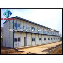 maison structurelle préfabriquée pour travailleurs