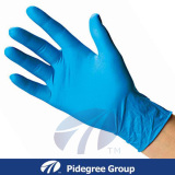 Nitrile Exam Gloves with Blue Color