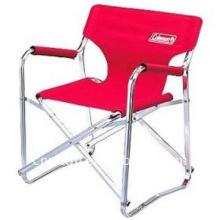 Cadeira de diretor 100% poliéster com armação de metal