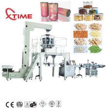 Linha de produção da máquina de etiquetagem e selagem de frascos PET