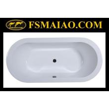 Простой стиль Drop в акриловой ванной ванной (BA-8809)