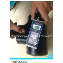 En10253-2 P265gh Accesorio de acero inoxidable T sin costura