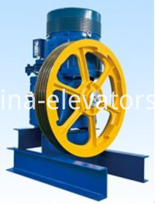 13VTR VVVF Geared Traction Machine for OTIS Elevators
