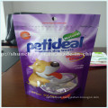Multicolor Stand up Pet Food Plastic Packing Bags