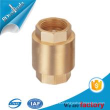 thread brass check valve