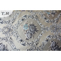 Floral Upholstery Jacquard Fabric Without Chenille