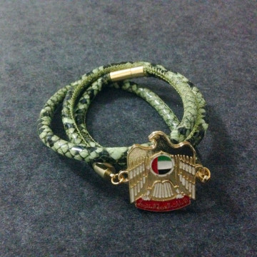 UAE Badge Stingray Leather National Day Gift Gelang