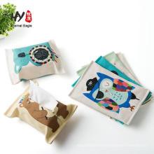 impreso logo tejido de papel personalizado para regalos